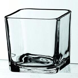 Libbey (リビー) キューブポティブ 5475 (M) ガラス 食器 小皿 おつまみ 卓上ランプ用 キャンドル用 おしゃれ 業務用 角形 四角 カフェ レストラン バー パブ ホテル 御祝 内祝い ギフト プレゼント SSK12