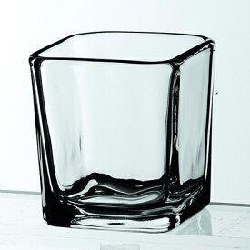Libbey (リビー) キューブポティブ 5474(S) ガラス 食器 小皿 おつまみ 卓上ランプ用 キャンドル用 おしゃれ 業務用 角形 四角 カフェ レストラン バー パブ ホテル 御祝 内祝い ギフト プレゼント SSK12
