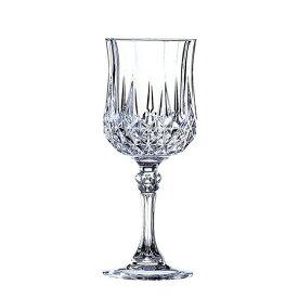 (単品販売) CRISTAL DARQUES(クリスタルダルク)ロンシャン ワイン175エレガント 上品 煌びやか グラス ワイングラス パーティー おもてなし 誕生日 御祝 結婚祝い ギフト プレゼント SSK16