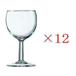 (12個販売) アルコロック バロン 190ワイン グラス ガラス 定番 おしゃれ ワイン用 普段使い 定番 ロングセラー 脚付き 業務用 カフェ レストラン ホテル バー バル 丈夫 頑丈 アルクインターナ