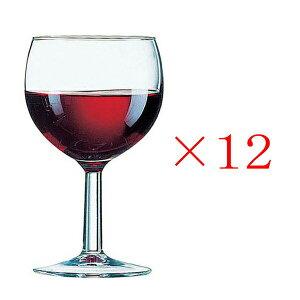 (12個販売) アルコロック バロン 250ワイン グラス ガラス 定番 おしゃれ ワイン用 普段使い 定番 ロングセラー 脚付き 業務用 カフェ レストラン ホテル バー バル 丈夫 頑丈 アルクインターナ