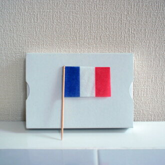Perfect for the dinner menu for children! Lunch flag France (200 PCs) flag toothpick / world flag and Olympic Games