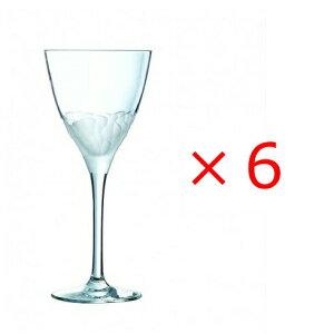 (6個販売) CRISTAL DARQUES(クリスタルダルク) インテュイション 210ワイン /エレガント 上品 煌びやか グラス ワイングラス パーティー おもてなし 誕生日 御祝 結婚祝い ギフト プレゼント S