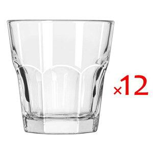 (12個販売) Libbey(リビー)ジブラルタル15242 266cc /グラス ガラス タンブラー 定番 ロングセラー 業務用 ソフトドリンク カフェ レストラン パブ ホテル イタリアン 御祝 内祝い 開店祝い ギ