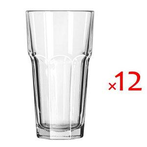 (12個販売) Libbey(リビー)ジブラルタル15256 473cc /グラス ガラス タンブラー 定番 ロングセラー 業務用 ソフトドリンク カフェ レストラン パブ ホテル イタリアン 御祝 内祝い 開店祝い ギ