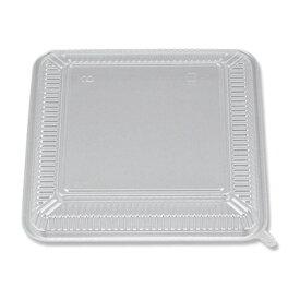 プラスティック弁当容器 CZ−220N専用 透明蓋 50枚入 /テイクアウト用 デリバリー用 お弁当用 お持ち帰り用 使い捨てフタ