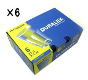 (6個販売)デュラレックス(DURALEX) ピカルディー 90ml /全面物理強化ガラス グラス タンブラー コップ おしゃれ 定番 カフェ ソフトドリンク 食洗機対応 電子レンジ対応 丈夫 頑丈 ロングセラー