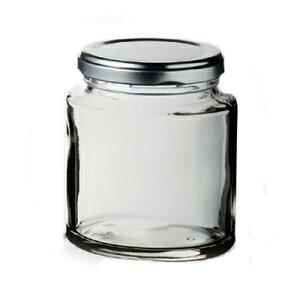 オーバルボトル Lサイズ /日本製 国産品 高品質 ツイスト式 ガラス製 ジャム瓶 手作りジャム ジャム入れ 保存容器 保存ボトル 乾き物 おつまみ 漬物 小分け用 業務用 シンプル おしゃれ 定番