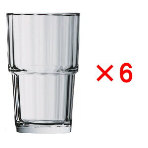 (6ヶセット)アルコロック ノルベージュ(NORVEGE) 270TB /タンブラー コップ 強化グラス ガラス製 業務用 定番 水飲みグラス 麦茶 冷茶 ソフトドリンク 普段使い カフェ レストラン ラーメン屋