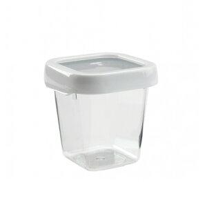 OXO(オクソー)ロックトップコンテナ保存容器 0.6L-Sスクエア /密閉保存容器 液体可能 密閉性 液漏れしない 冷蔵 冷凍保存可 電子レンジ可 食洗機可 お弁当 フルーツ アイス 野菜 お肉 お魚