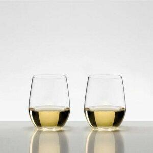 【日本正規品】リーデル RIEDEL オー (O) ヴィオニエ/シャルドネ (ペアセット) /ドイツ製 ワイングラス クリスタル 高品質 白ワイン ロングセラー 箱入り 2個販売 御祝 結婚祝い 出産祝い 開店祝