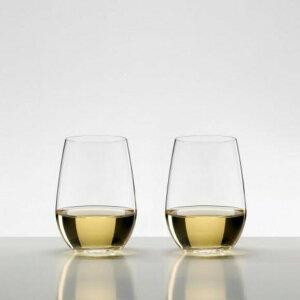 【日本正規品】リーデル RIEDEL オー (O) リースリング/ソーヴィニヨンブラン (ペアセット) /ドイツ製 ワイングラス クリスタル 高品質 白ワイン ロングセラー 箱入り 2個販売 御祝 結婚祝い 出