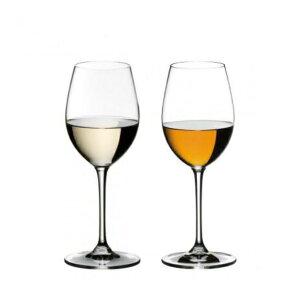 【日本正規品】リーデル RIEDEL ヴィノム vinum ソーヴィニオンブラン/デザートワイン(ペアセット) /ドイツ製 クリスタル 高品質 ワイングラス ロングセラー 箱入り 2個販売 御祝 結婚祝い 開店