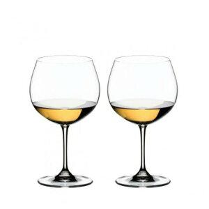 【日本正規品】リーデル RIEDEL ヴィノム vinum オークド・シャルドネ モンラッシェ (ペアセット) /ドイツ製 クリスタル 高品質 白ワイン ロングセラー 箱付き 2個販売 御祝 結婚祝い 出産祝い