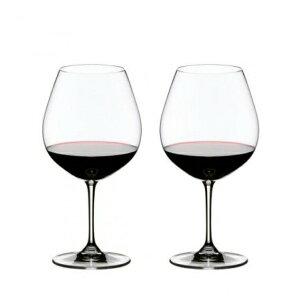 【日本正規品】リーデル RIEDEL ヴィノム vinum ピノノワール ブルゴーニュ (ペアセット) /ドイツ製 クリスタル 高品質 赤ワイン ロングセラー 箱入り おもてなし ゲスト用 パーティー 2個販売