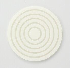 [NC5-415] サークルコースター クリアホワイト