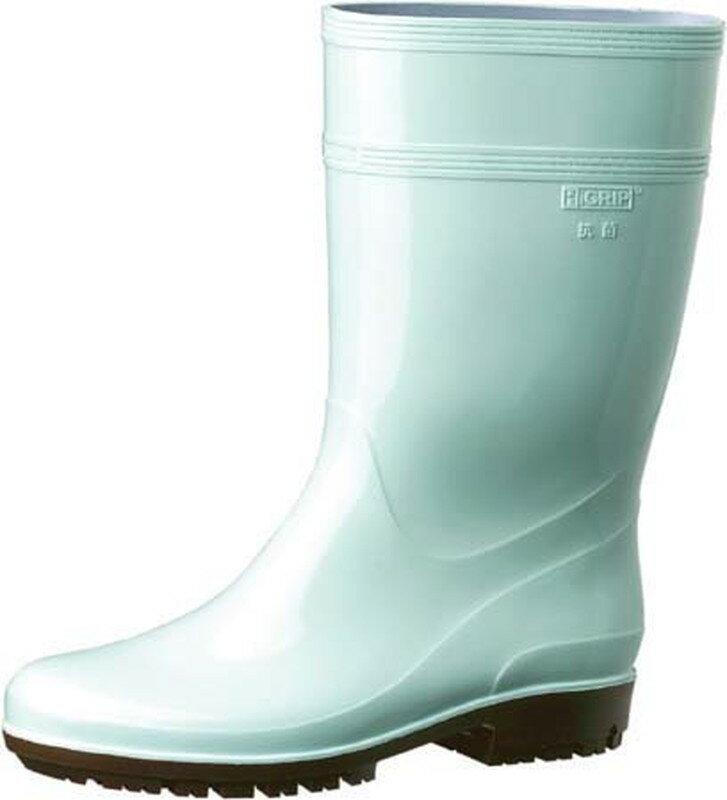 [TKG16-1306] ミドリ安全ハイグリップ長靴HG2000N 22.5cmグリーン