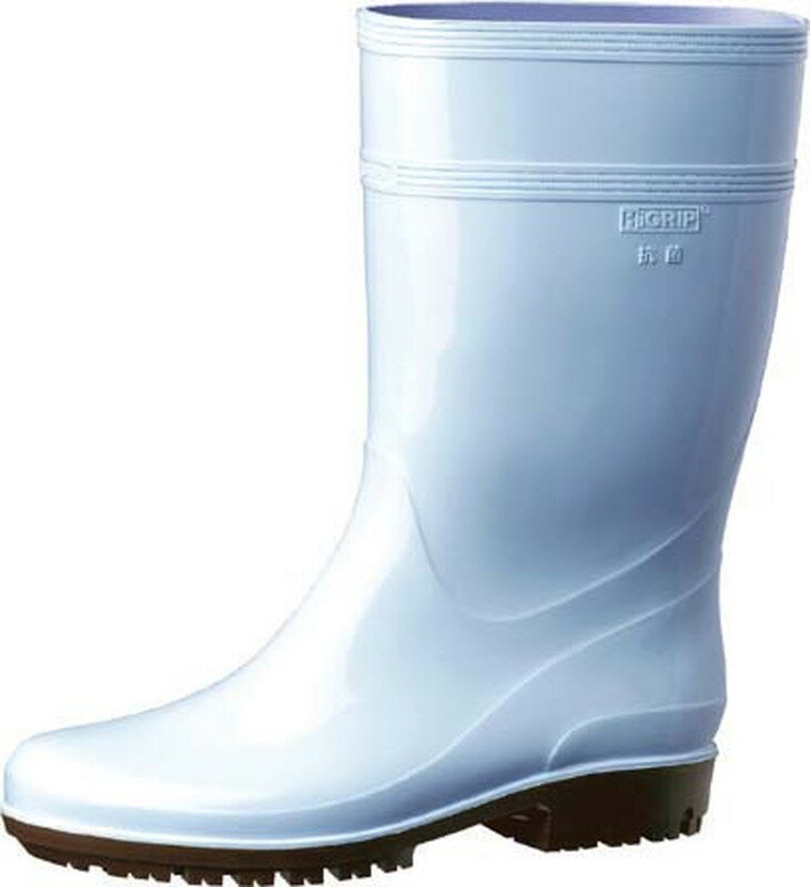 [TKG16-1306] ミドリ安全ハイグリップ長靴HG2000N 25.5cmブルー