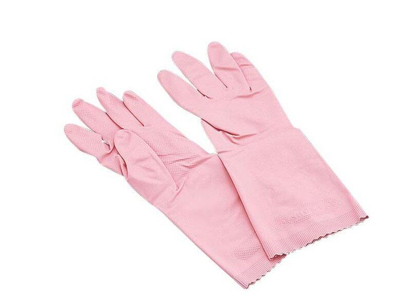 [TKG16-1321] ショーワナイスハンドエクストラ中厚手手袋 Mピンク