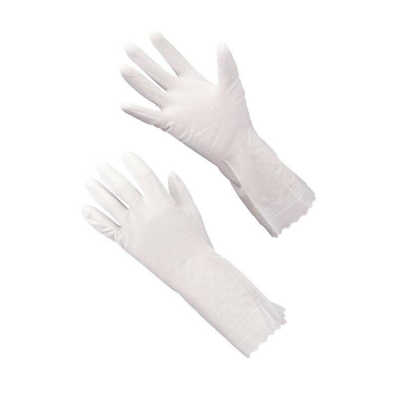 [TKG16-1322] ショーワ ビニトップ 薄手手袋 No.130 Lホワイト
