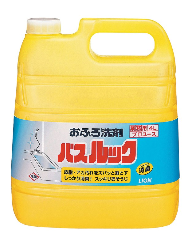 [TKG16-1184] ライオン 業務用バスルック(おふろ洗剤) 4L