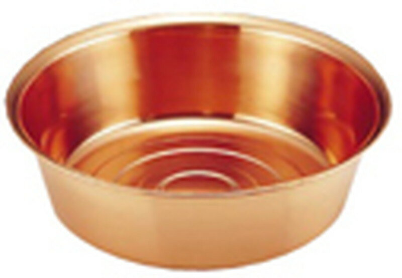[TKG16-0241] 銅 洗桶 29cm