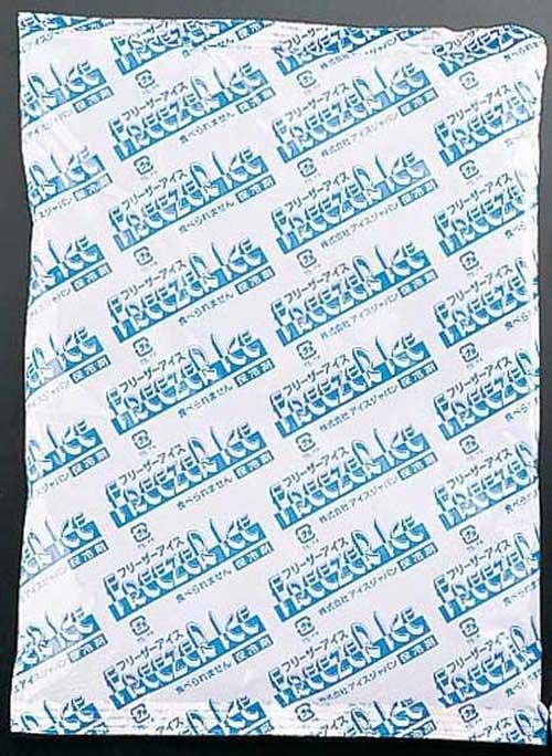 保冷剤 フリーザーアイス R-400(42ヶ入) 7-0168-0704 保冷剤 (TKG17-0168)