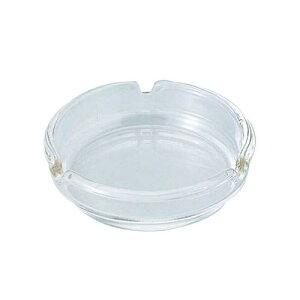 日本製 灰皿 国産ガラス製灰皿 110 (スキ) ガラス製品 ガラス 業務用 dg-720