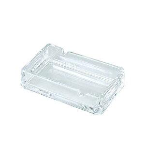 日本製 灰皿 国産ガラス製灰皿 550 (スキ) ガラス製品 ガラス 業務用 dg-732
