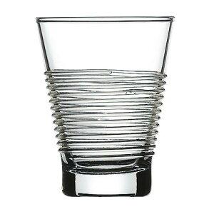 フランス製 ロックグラス ルーピング 90TB_6個入 カクテル 水 ソフトドリンク 全面物理強化ガラス 業務用 jd-4069