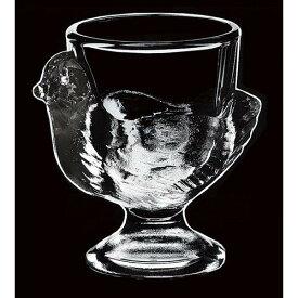 フランス製 サラダボウル スープボウル コクティエプル エッグカップ 3個入 エッグスタンド 本体:ガラス スタンド:シリコン 業務用 jd-6019