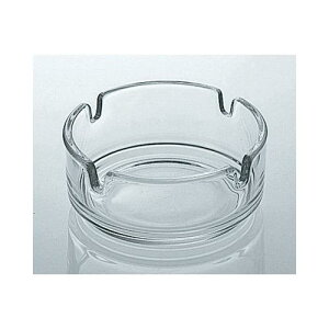 フランス製 灰皿 Hー10 クリア 6個入 ガラス製品 ガラス 業務用 jd-740