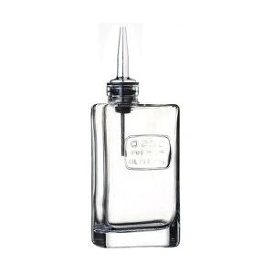 イタリア製 オリーブオイル入れ オプティマ OLIVE OIL ガラス製品 本体:ガラス ノズル:ステンレススチール シリコン 業務用 lg-4483