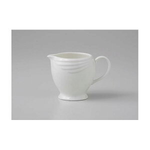 シュガーポット クリーマー アミューズホワイト クリーマーL ミルククリーマー ミルクピッチャー 陶器 業務用 mi-15489