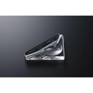 灰皿 アシュトレイ  シガーアッシュトレイ チップ ガラス製品 光学硝子 業務用 qw-6053