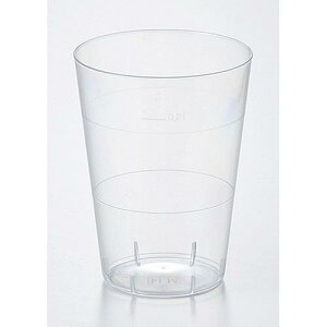 カクテル ウォーター ワイン ソフトドリンク パーティ ビュッフェ プラスティックグラス タンブラー265 洋食器 ポリスチレン 業務用 qy-5455