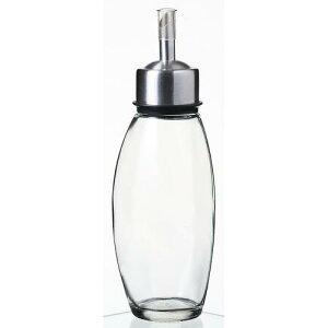 保存容器 ディスペンサー オリーブオイル ドレッシング オイル&ヴィネガー ブラック 8629 ガラス製品 ガラス ステンレススティール+ABS樹脂 サーモプラスティックラバー シリコン 業務用 sg-154