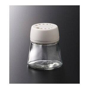調味料 カスター 塩 こしょう スパイスジャー 8360 ホワイトリッド ガラス製品 本体:ガラス フタ:ABS樹脂 業務用 sg-2647