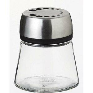 調味料 カスター 塩 こしょう スパイスジャー 8360 シルバーリッド ガラス製品 本体:ガラス フタ:ABS樹脂 業務用 sg-2986