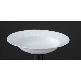 ノリタケ プレート パスタ スープ シェール ブラン 24cmディーププレート 94898/1655 ファインポーセレン(プレミアム ホワイト) 業務用 94898-1655