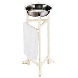 日本製 トイレ用品 手洗い 消毒 SAイレクターハンドウォッシャースタンド 洗面器 清掃用品 鉄 プラスチック 業務用 7-1348-0101