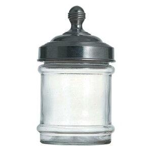 【業務用】 アルミキャップ ガラス キャニスター 100-030無地 保存容器 キッチンポット 保存容器 乾物 インテリア 料理道具