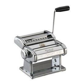 イタリア製 そば うどん パスタ用品 Chef in Casa アトラスパスタマシーン ATL-150 料理道具 スチール 業務用 8-0389-1201
