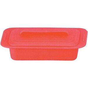 キッチンポット 保存容器 電子レンジ シリコーン シリコンスチーマー デュエ 59617パプリカレッド 料理道具 シリコン樹脂 業務用 8-0233-0201