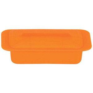 キッチンポット 保存容器 電子レンジ シリコーン シリコンスチーマー デュエ 59618キャロットオレンジ 料理道具 シリコン樹脂 業務用 8-0233-0202