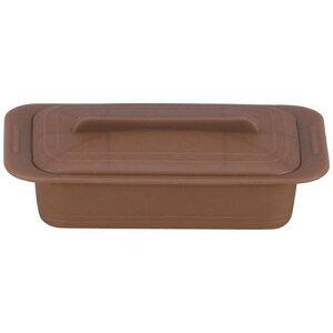 キッチンポット 保存容器 電子レンジ シリコーン シリコンスチーマー デュエ 59621マロンブラウン 料理道具 シリコン樹脂 業務用 8-0233-0204