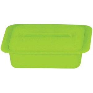 キッチンポット 保存容器 電子レンジ シリコーン シリコンスチーマー クアトロ 59624レタスグリーン 料理道具 シリコン樹脂 業務用 8-0233-0303