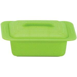 キッチンポット 保存容器 電子レンジ シリコーン シリコンスチーマー ウノ 59629レタスグリーン スチーマー(電子レンジ用) 料理道具 シリコン樹脂 業務用 8-0233-0103