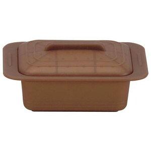 キッチンポット 保存容器 電子レンジ シリコーン シリコンスチーマー ウノ 59631マロンブラウン スチーマー(電子レンジ用) 料理道具 シリコン樹脂 業務用 8-0233-0104