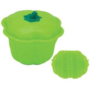 キッチンポット 保存容器 電子レンジ シリコーン シリコンスチーマー ココット 59638パプリカグリーン 料理道具 シリコン樹脂 業務用 8-0233-0402